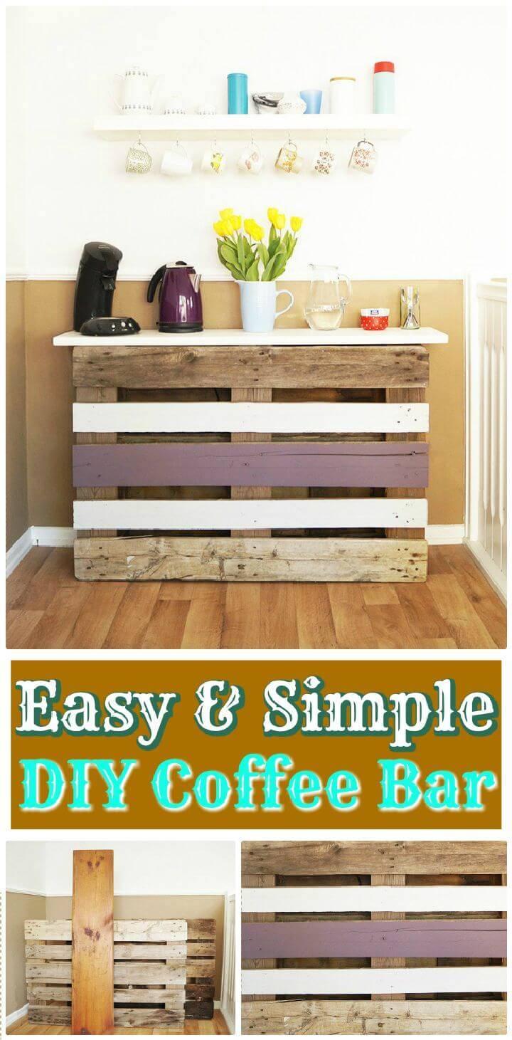 DIY Easy & Simple DIY Coffee Bar