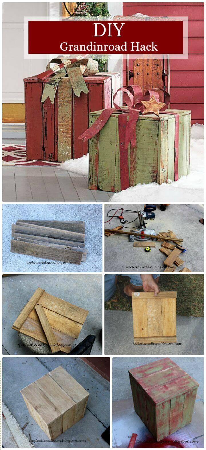 DIY Grandinroad Hack A Pallet Project