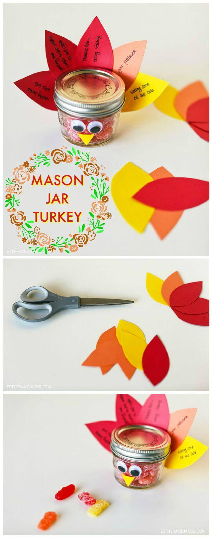 DIY MASON JAR TURKEY