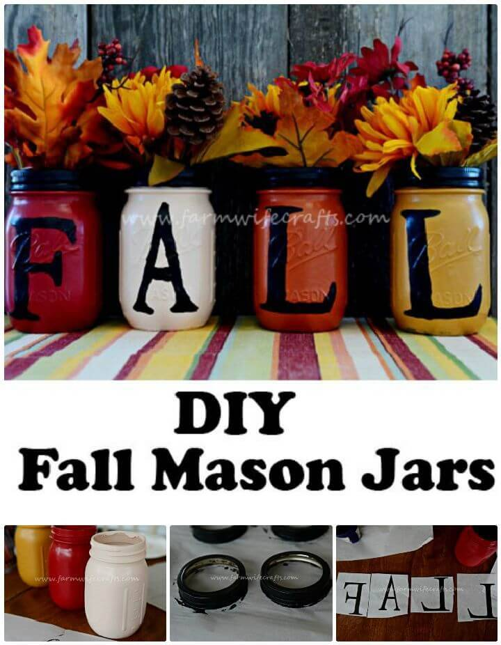 DIY Mason Jar Fall Craft