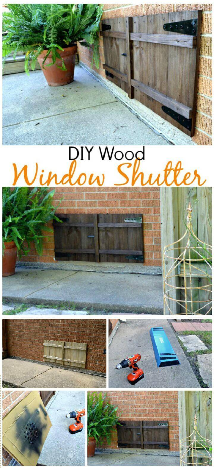 DIY New and Improved Window Shutter