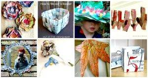 71 Unique DIY Newspaper Craft Projects