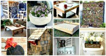 40+ Repurposed DIY Projects To Upgrade Your Home