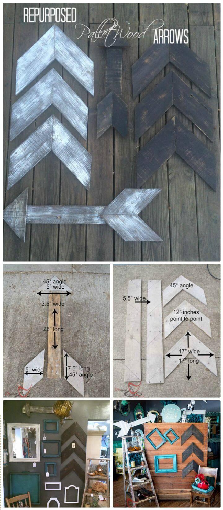 DIY Repurposed Pallet Wood Projects!
