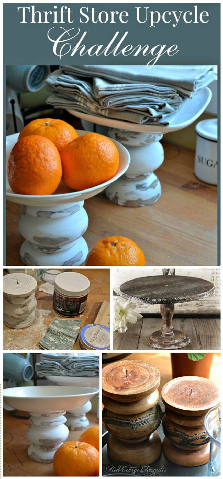 DIY Thrift Store Decor Upcycle Challenge