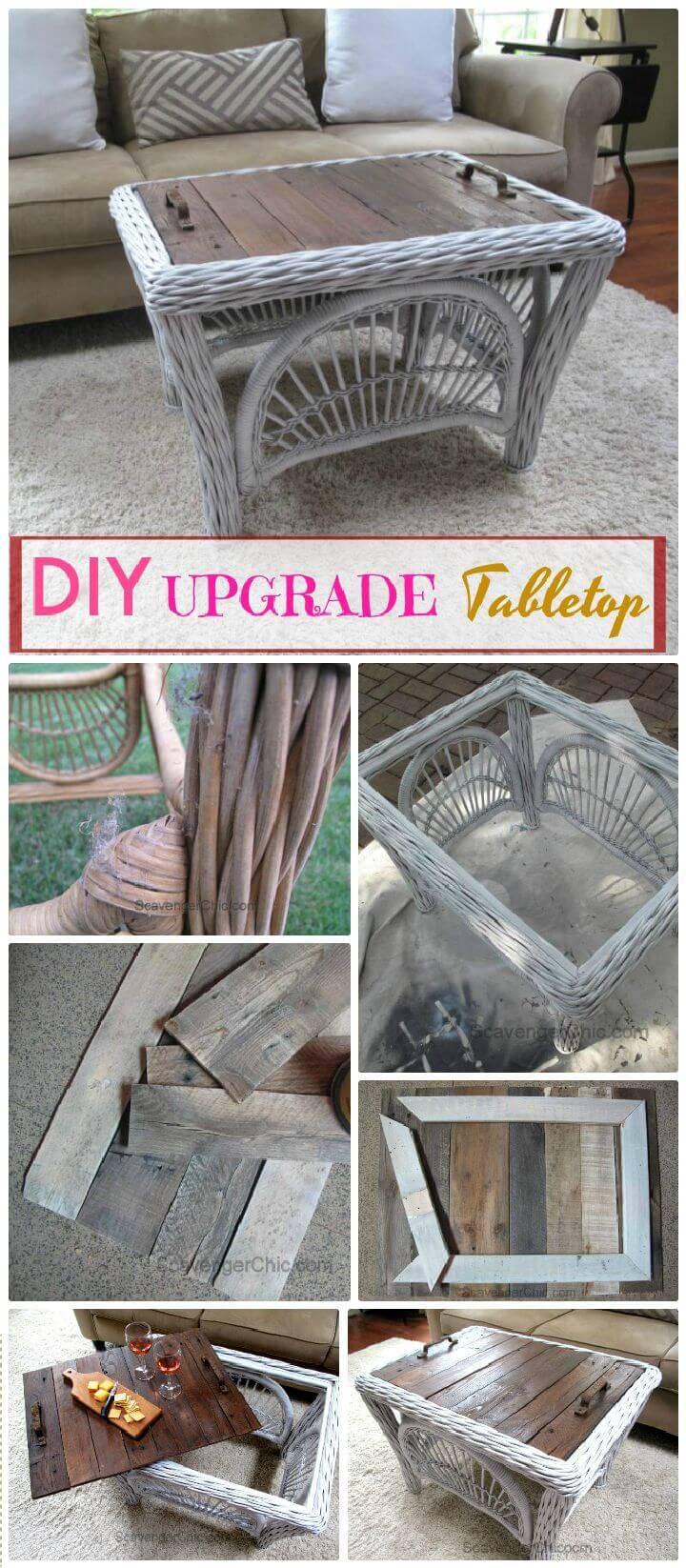 DIY Upgrade Your Tabletop