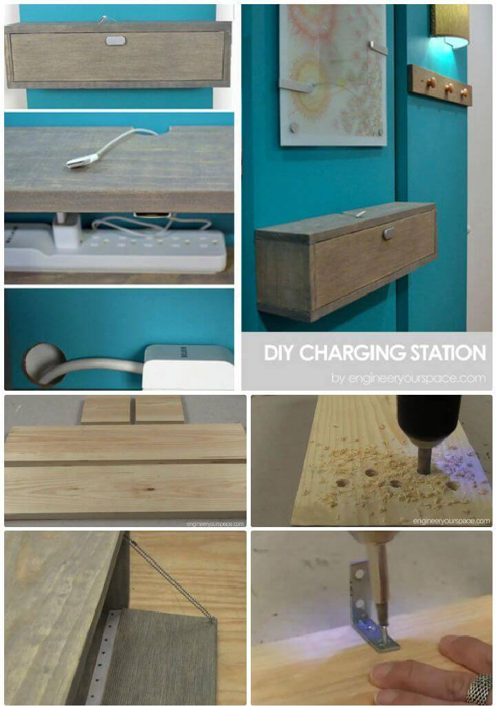 40 Best Diy Charging Station Ideas Easy Simple Unique Diy