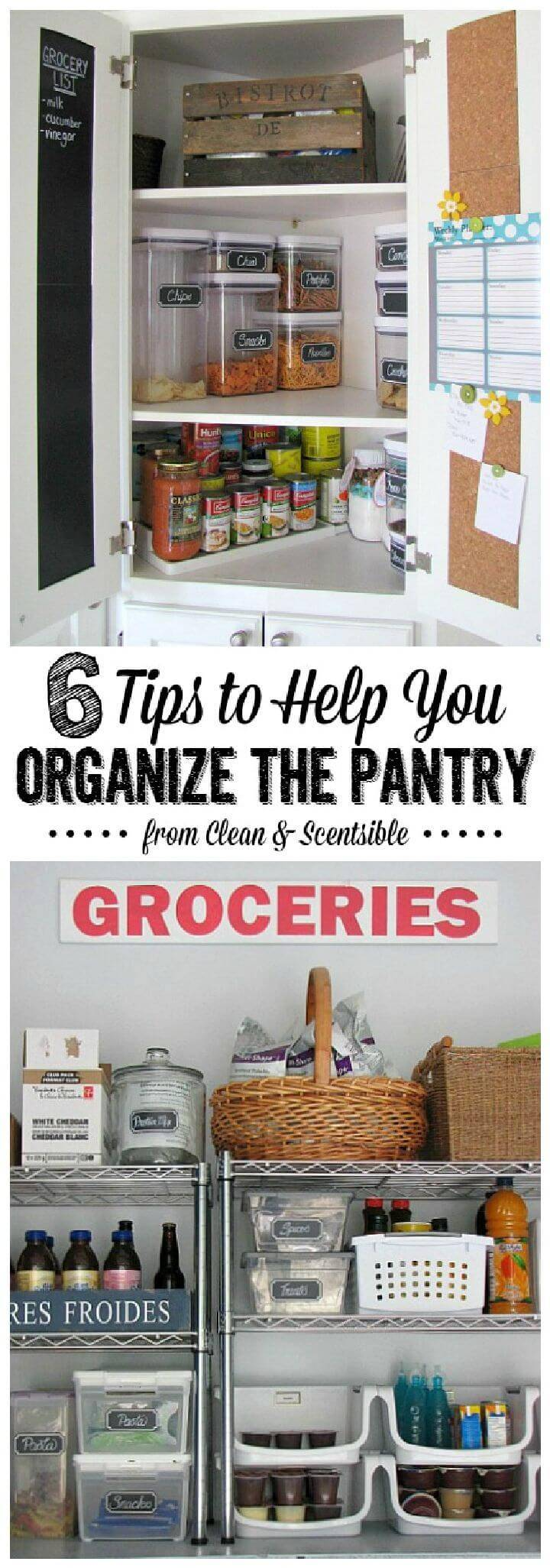 How Organize Your Pantry