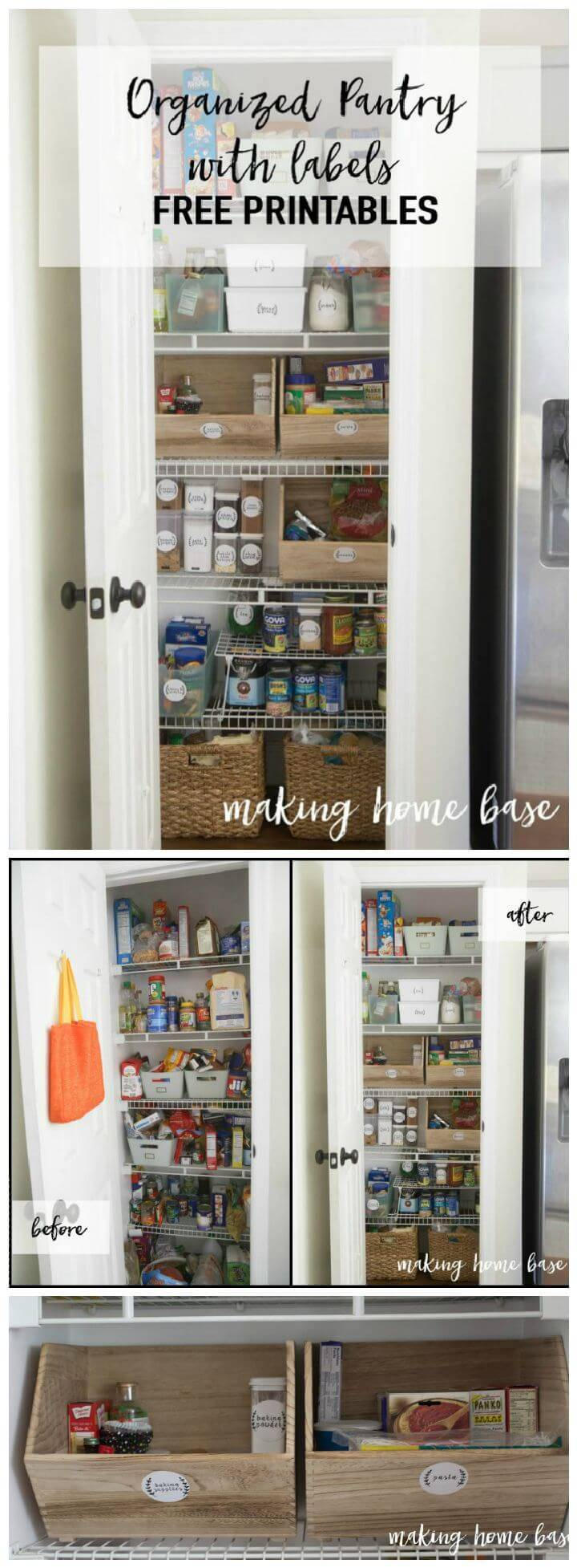 how to organize a kitchen pantry 60 best pantry organization ideas diy diy amp crafts 8765