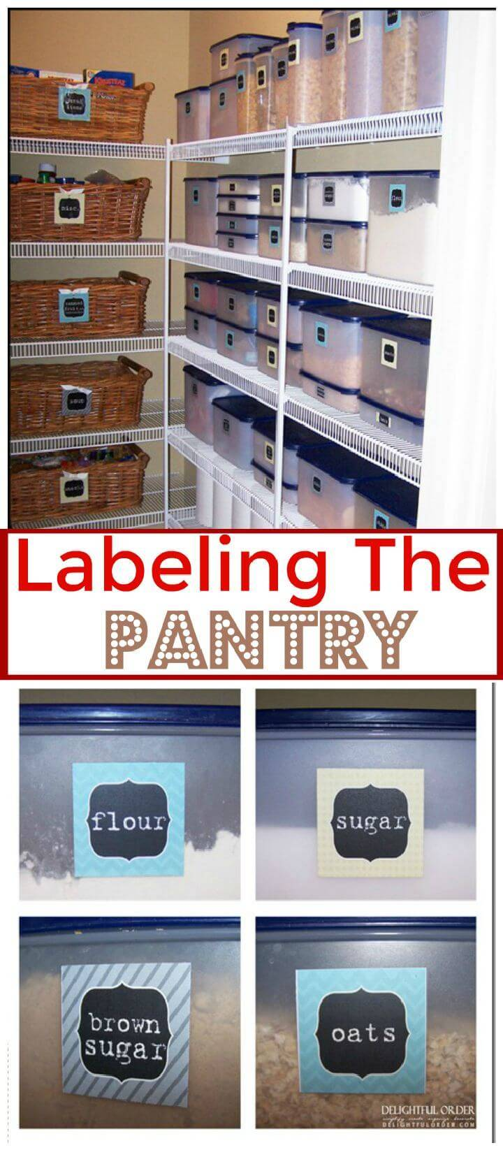 Labeling The Pantry