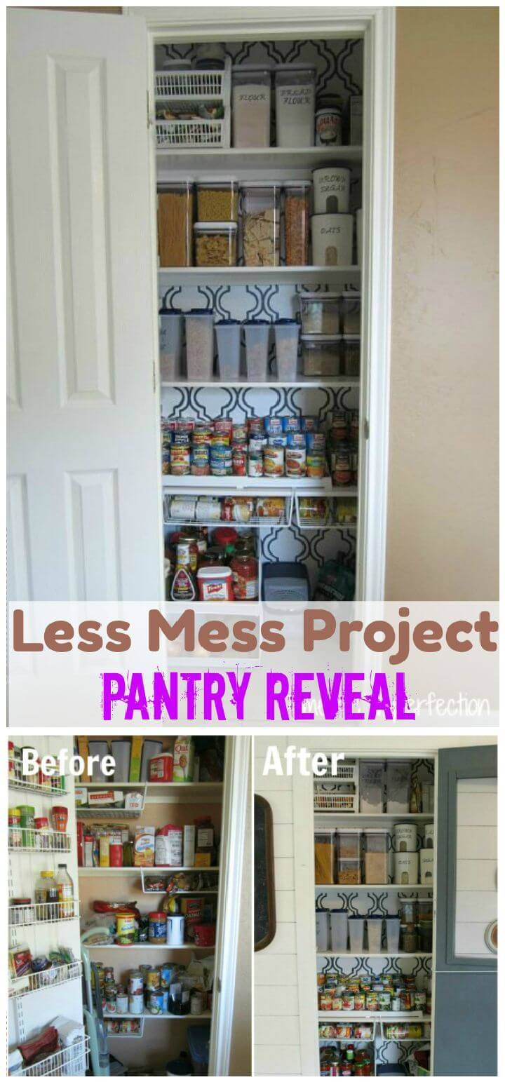 Less Mess Project Pantry Reveal