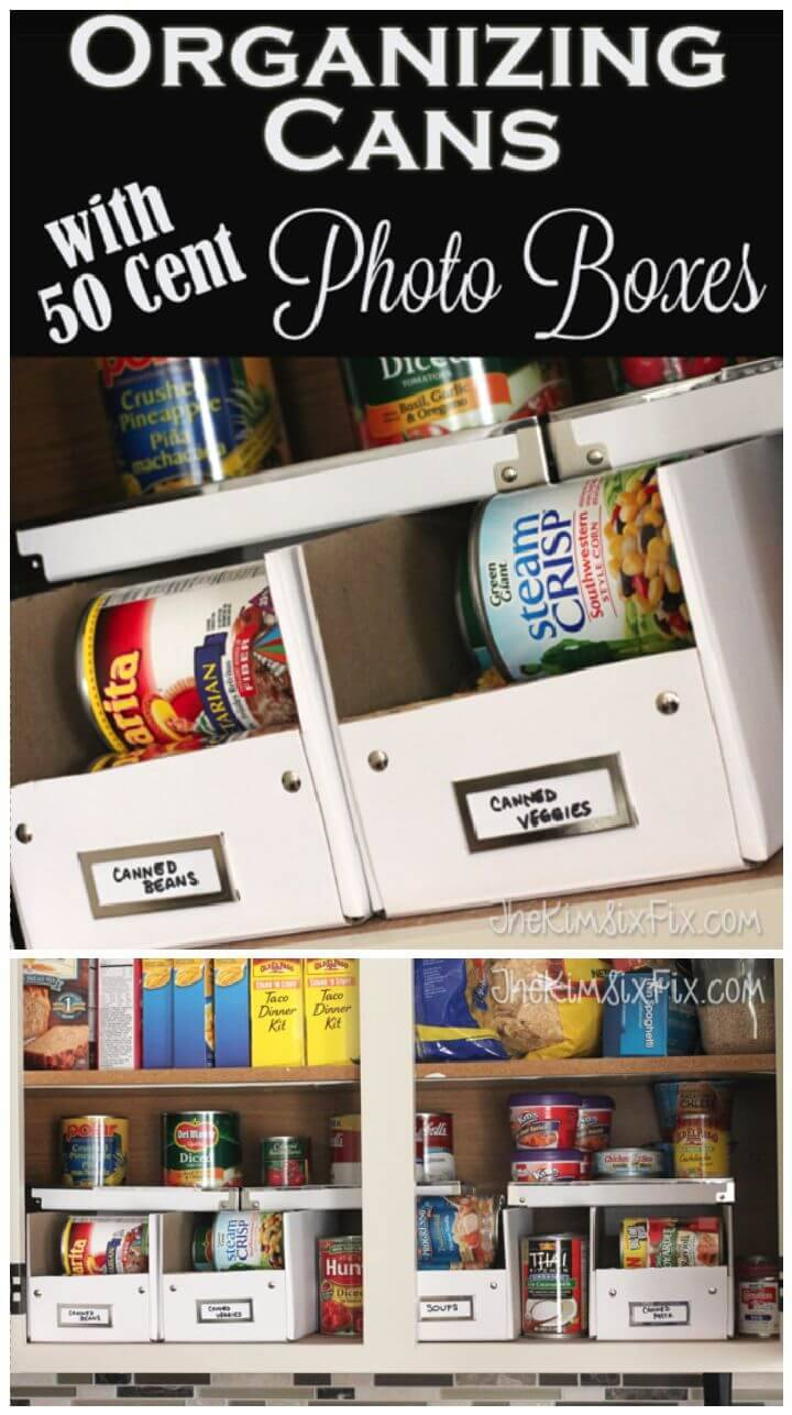 Organizing the Cans in Your Pantry