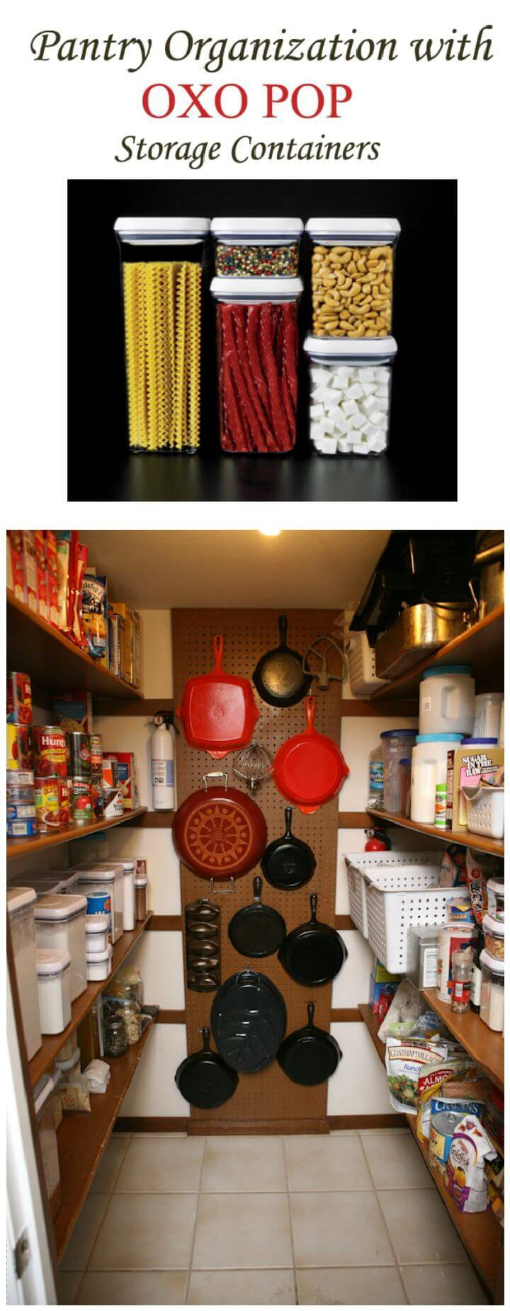 Pantry Organization {OXO POP Giveaway}