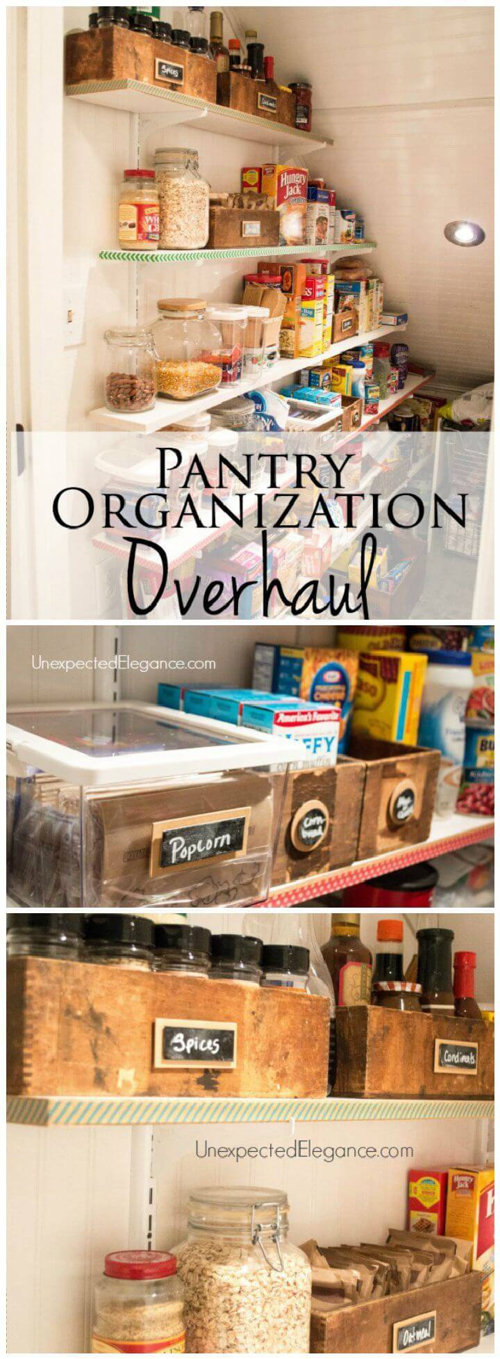 Pantry Organization Overhaul