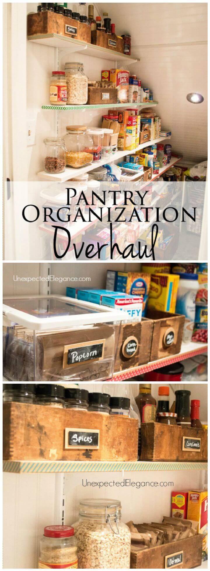 Pantry Organization Overhaul