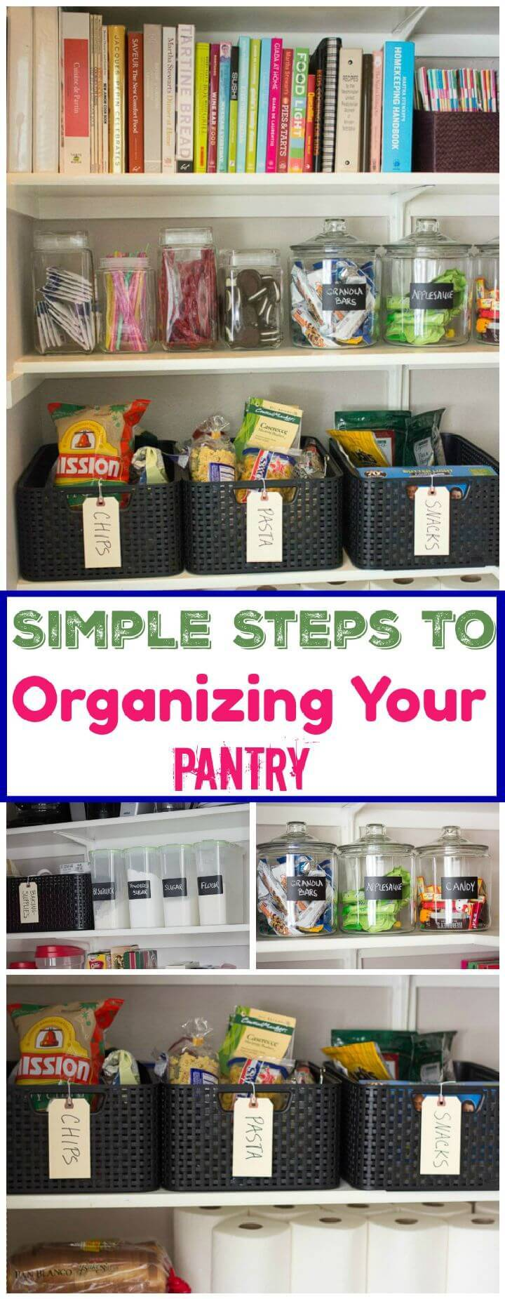 Simple Steps to Organizing Your Pantry