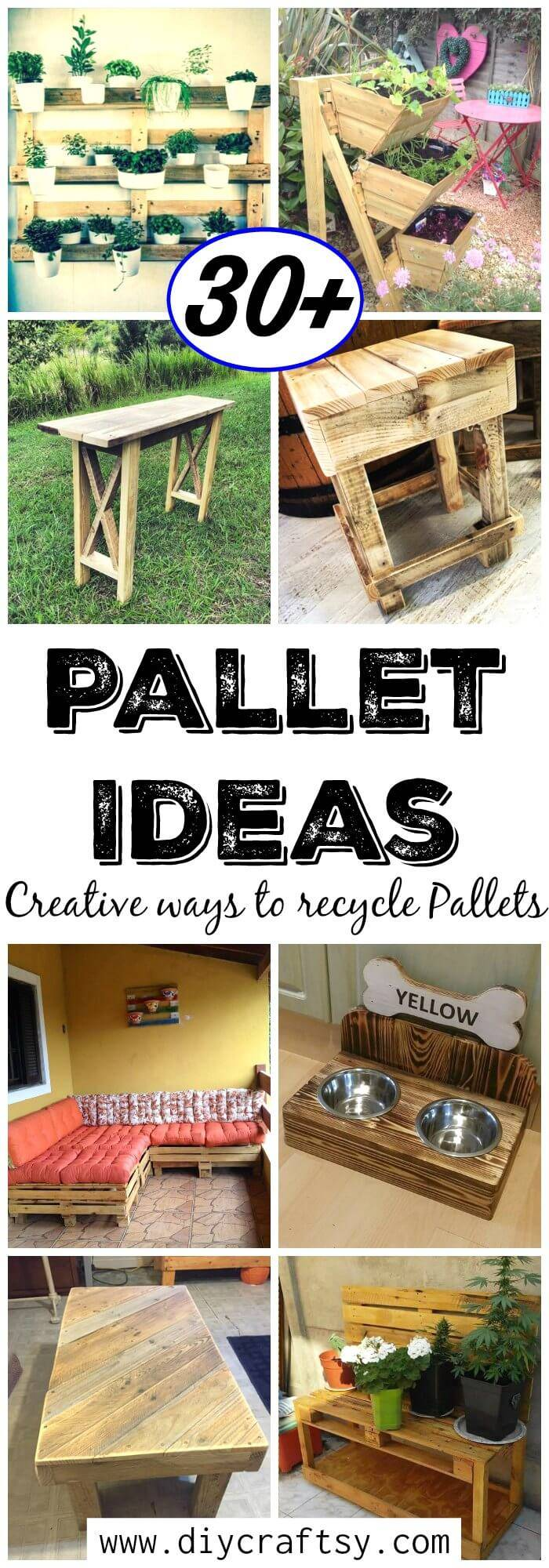 30 Pallet Ideas Creative ways to