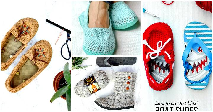 Crochet Boots / Slippers / Shoes