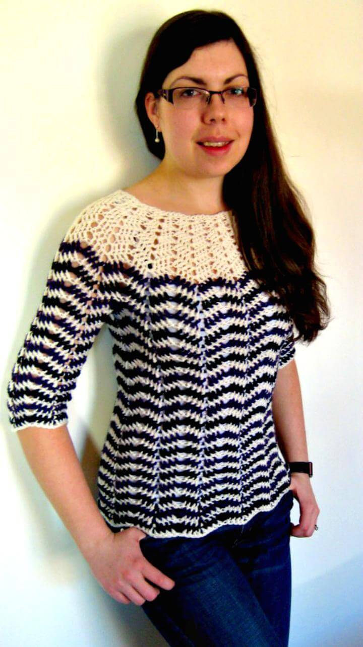 Free Crochet Sweater Pattern