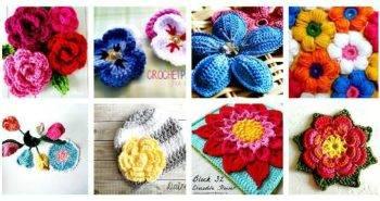 Crochet Flowers – 90+ FREE Crochet Flower Patterns