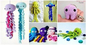 Crochet Jellyfish – 14 Free Crochet Patterns