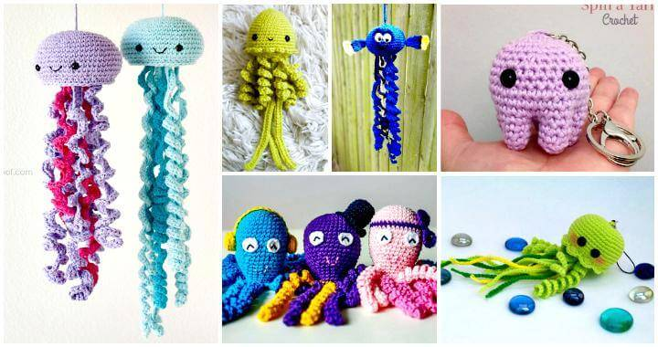 Crochet Jellyfish - 14 Free Crochet Patterns - DIY   Crafts b07753b5704e