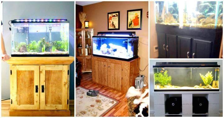 23 DIY Aquarium Stand Plans