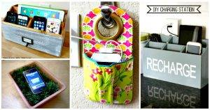 DIY Charging Station Ideas