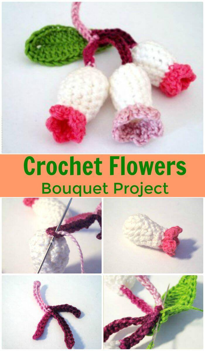 Crochet flowers 90 free crochet flower patterns diy crafts diy crochet flowers bouquet project super easy and free crochet flower patterns izmirmasajfo
