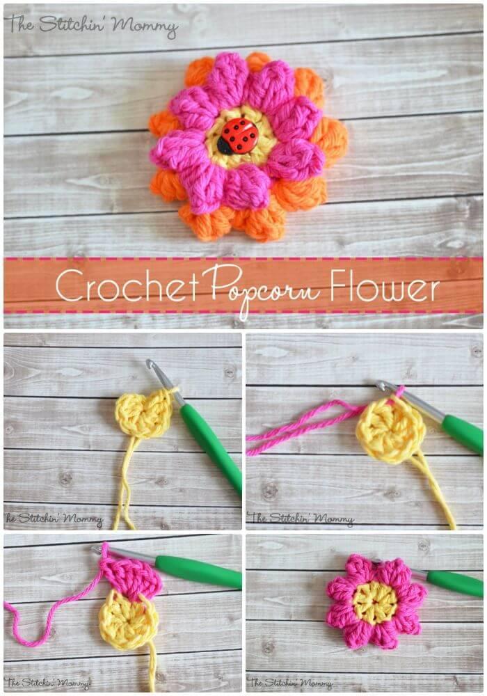 Crochet Flowers 90 Free Crochet Flower Patterns Diy Crafts