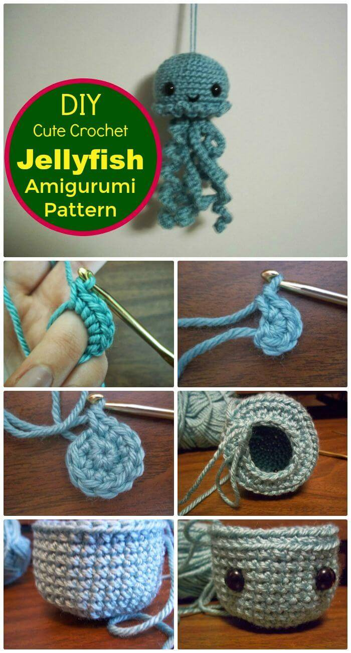 Crochet jellyfish 14 free crochet patterns page 3 of 3 for Crochet crafts for kids