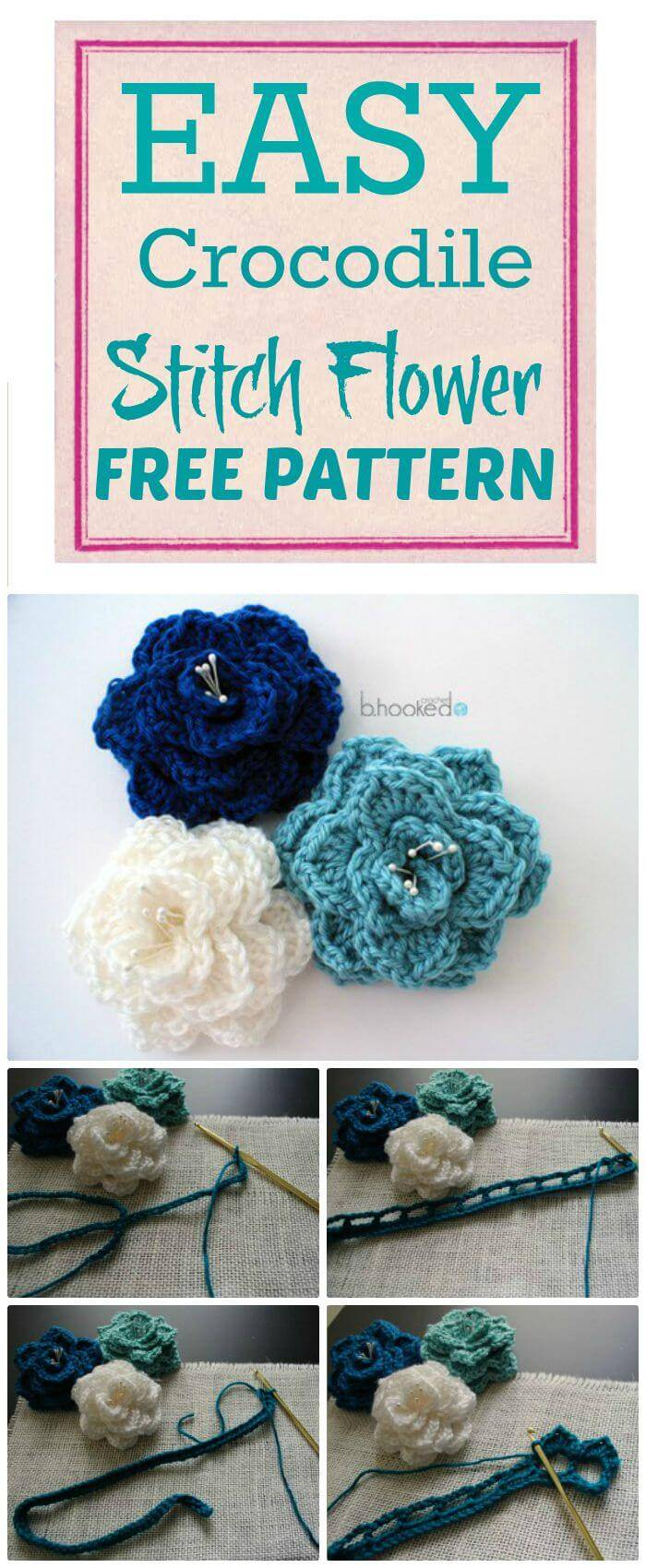 Crochet Flowers - 90+ FREE Crochet Flower Patterns - DIY Crafts