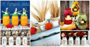 50 Unique DIY Mason Jar Crafts for Fall Decor