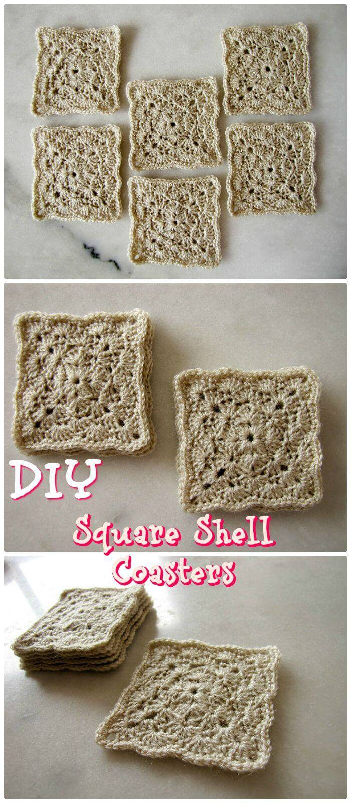 70 Easy Free Crochet Coaster Patterns For Beginners Diy Crafts
