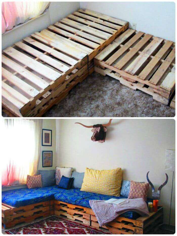 DIY Pallet Couch Tutorial - DIY Pallet Furniture Projects