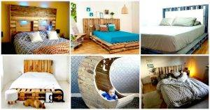 11 Pallet Bed Ideas – Step By Step Pallet Bed Frame Tutorials