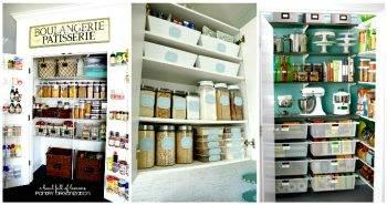 60 Best Pantry Organization Ideas – DIY
