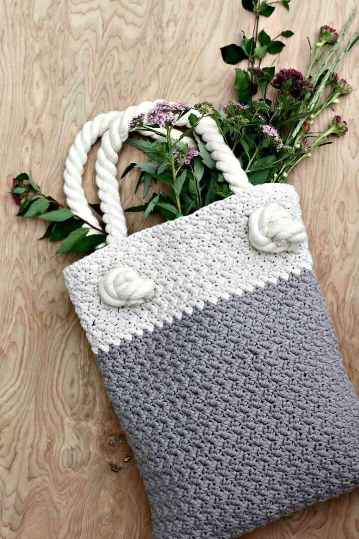 Free Crochet Bag Pattern For Beginners
