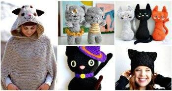 20 Free Crochet Cat Patterns – Crochet Cat Toys - Crochet Amigurumi Patterns