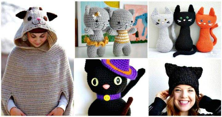 20 Free Crochet Cat Patterns – Crochet Cat Toys