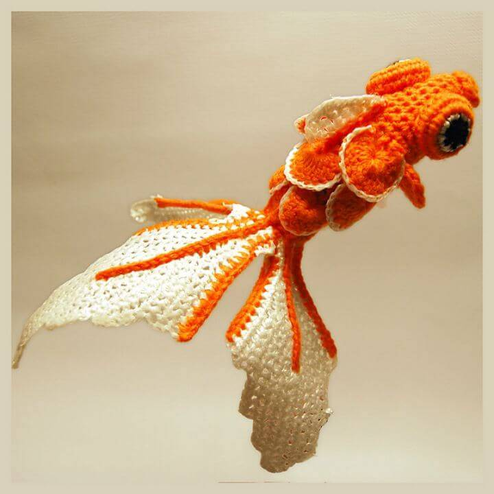 Super Cute 20G Crocheted Fish - Free Pattern