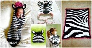 26 Free Crochet Zebra Patterns - Crochet Hat, Blanket, Amigurumi
