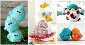 27 Free Crochet Bird Patterns You'll Love - Thumbnail