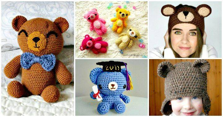 50 Free Crochet Teddy Bear Patterns - Crochet Patterns