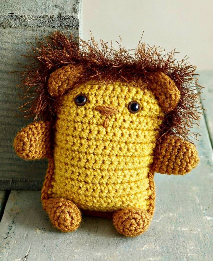 How to Free Crochet Amigurumi Lion Pattern