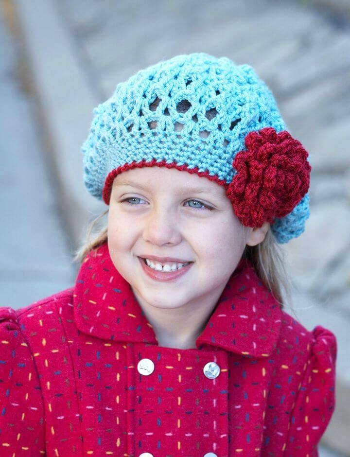 How To Awesome Free Crochet Blossom Hat Pattern