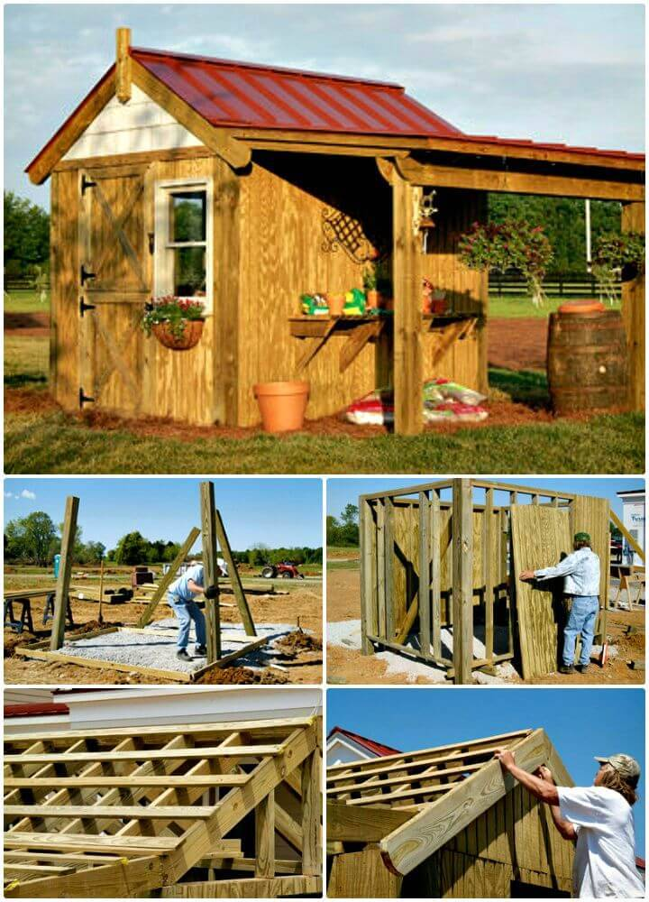 Build This Potting Shed - Free Plan