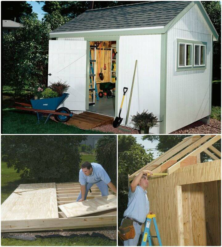 Build Your Own Garden Shed Free Plans