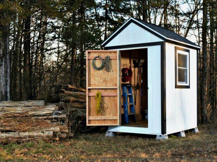 Build Your Own Simple Shed From Scratch