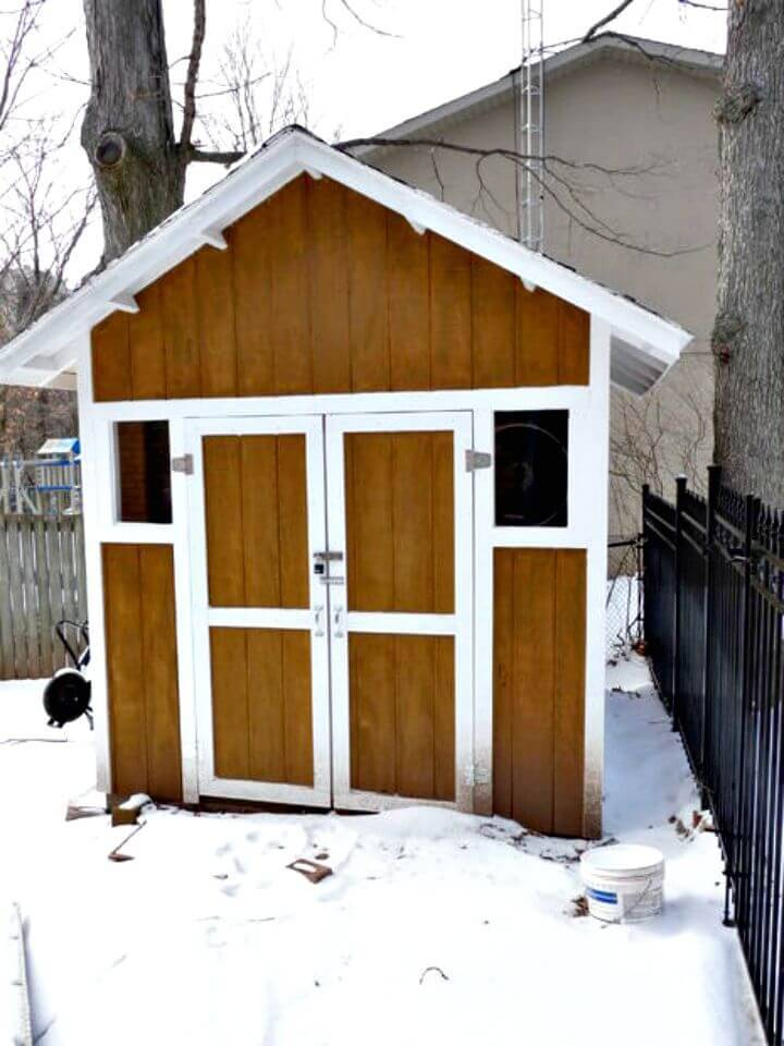 Build Your Own Storage Shed - Free Plan